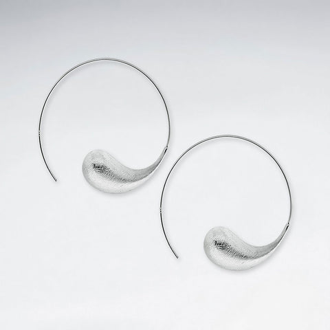 Sterling Silver Sofia Hoop Earrings: Solveig's Silver - Magpie.Kiwi