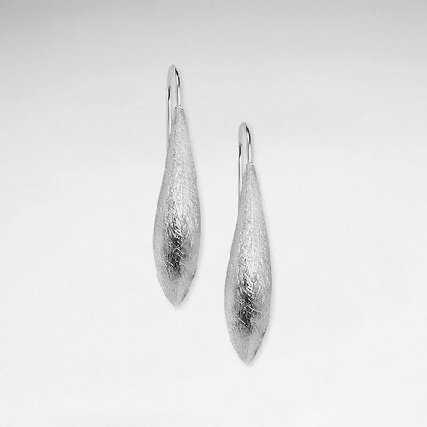 Silver Astrid Drop Earrings: Solveig's Silver