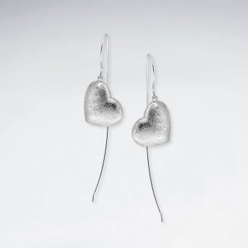 Silver Freya Drop Earrings: Solveig's Silver