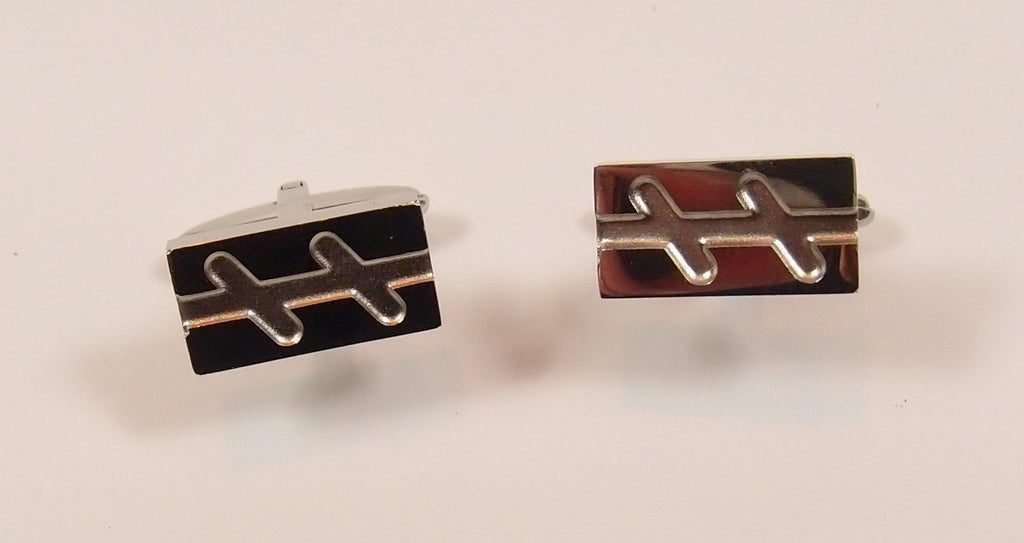 Steel Cuff-Links: For Him - Magpie.Kiwi