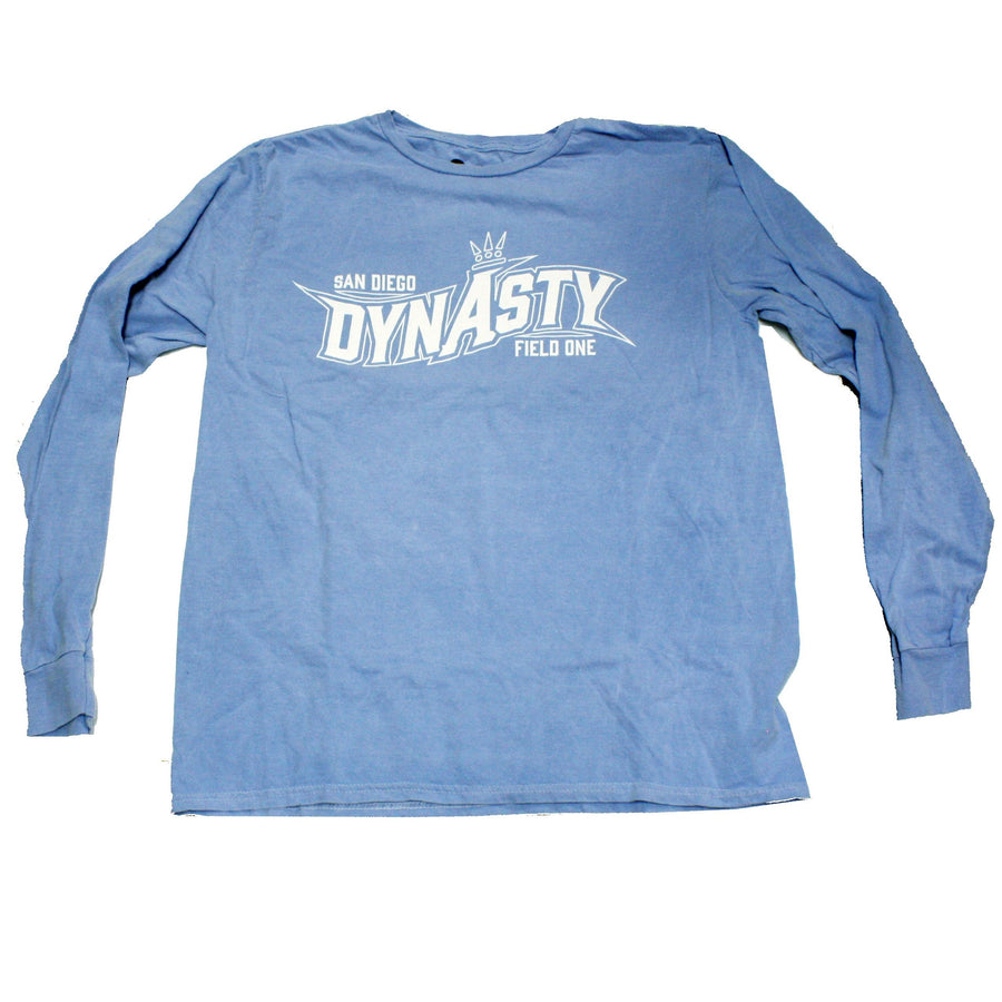 Dynasty Blue/White Hyper Color- Long Sleeve Shirt