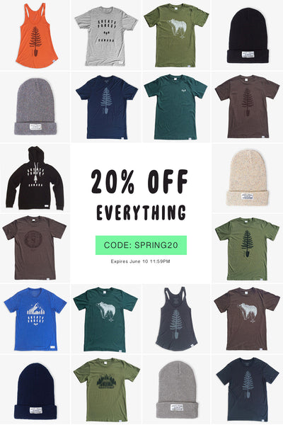 20% OFF EVERYTHING + 6 New Tee Packs