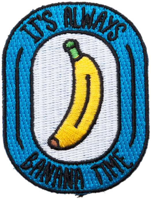 Banana Time Patch