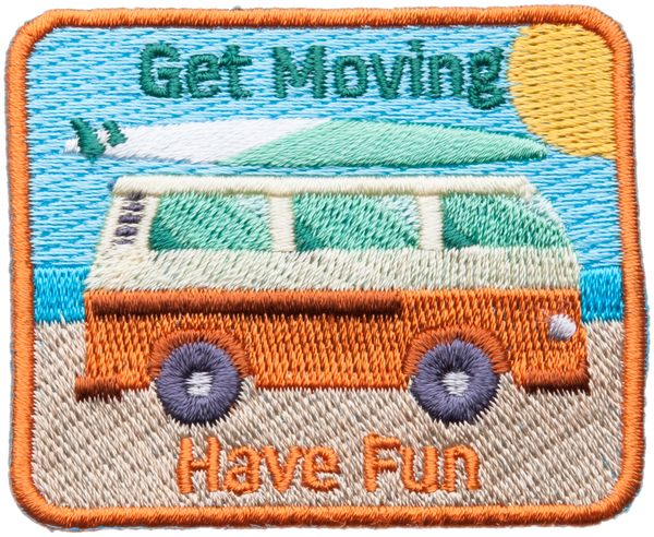 Get Moving Have Fun Patch
