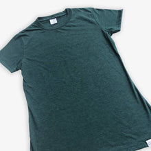 Load image into Gallery viewer, Essential Tee - Women - Heather Green (3 Pack)