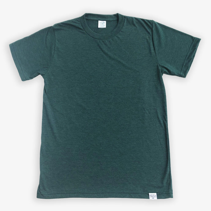 Essential Tee - Unisex - Heather Green
