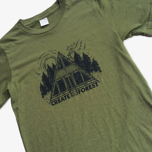 Create Forest 4 Tees Pack