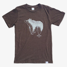 Load image into Gallery viewer, Spirit Bear Tee - Heather Brown