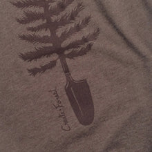 Load image into Gallery viewer, Spade Tree Tee - Heather Brown