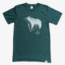 Spirit Bear Tee - Heather Green
