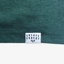 Load image into Gallery viewer, Pocket Trees Tee - Women - Heather Green
