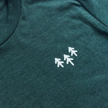 Pocket Trees Tee - Heather Green