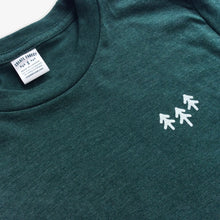 Load image into Gallery viewer, Pocket Trees Tee - Heather Green