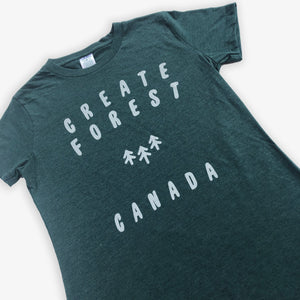 Logo Tee - Women - Heather Green