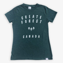 Load image into Gallery viewer, Logo Tee - Women - Heather Green