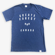 Load image into Gallery viewer, Logo Tee - Heather Navy