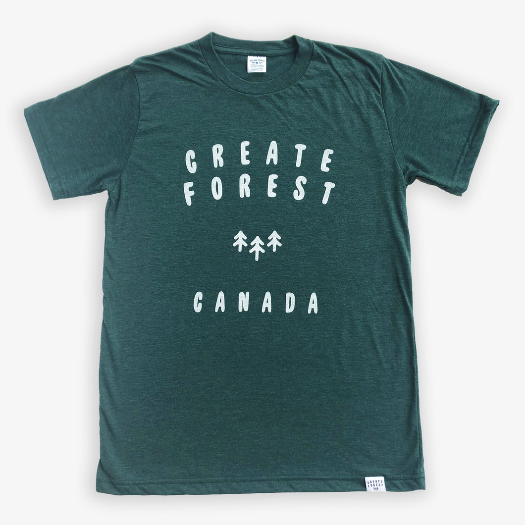 Logo Tee - Heather Green