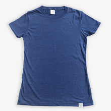 Load image into Gallery viewer, Essential Tee - Women - Heather Navy (3 Pack)