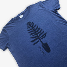 Load image into Gallery viewer, Spade Tree Tee - Women - Heather Navy