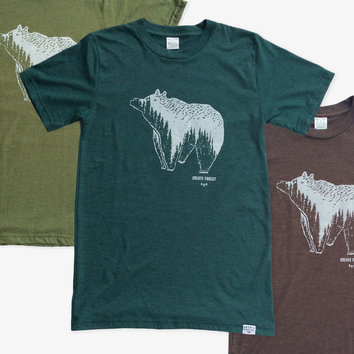 Spirit Bear 3 Tees Pack
