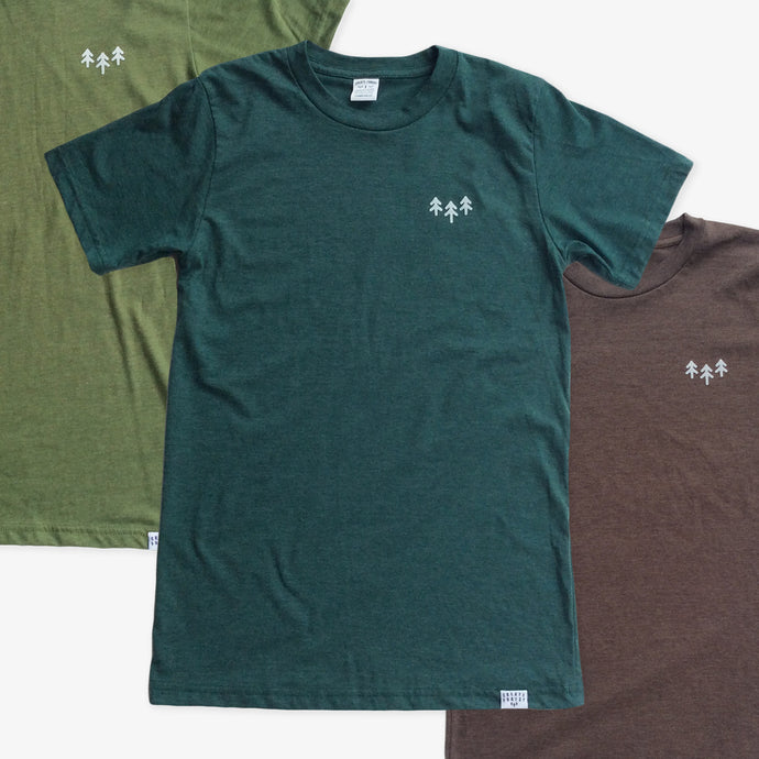 Pocket Trees 3 Tees Pack