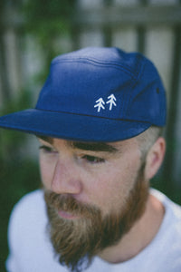 5 Panel Cap - Pacific Navy