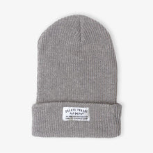 Load image into Gallery viewer, Ribbed Toque - Heather Grey
