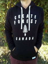 Load image into Gallery viewer, Spade Tree Hoodie - Black