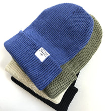 Load image into Gallery viewer, Ribbed Toque - Black