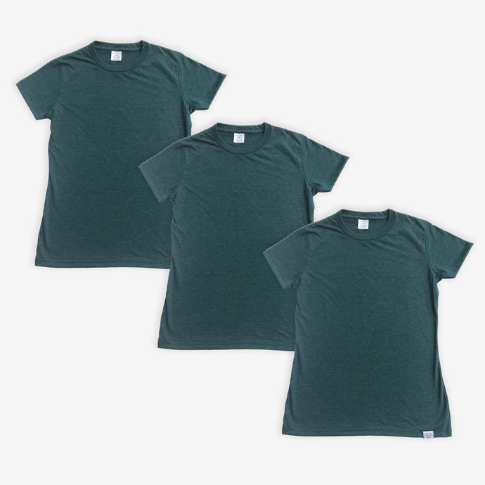 Essential Tee - Women - Heather Green (3 Pack)