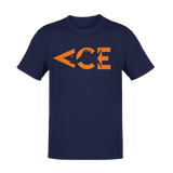 Ace Original Orange Logo T-Shirt