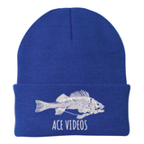 Ace Videos Fish Skeleton Fish Beanie