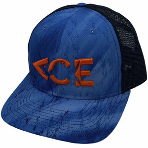 Ace Logo Realtree Fishing Trucker Snapback Hat First Cast Of The Day