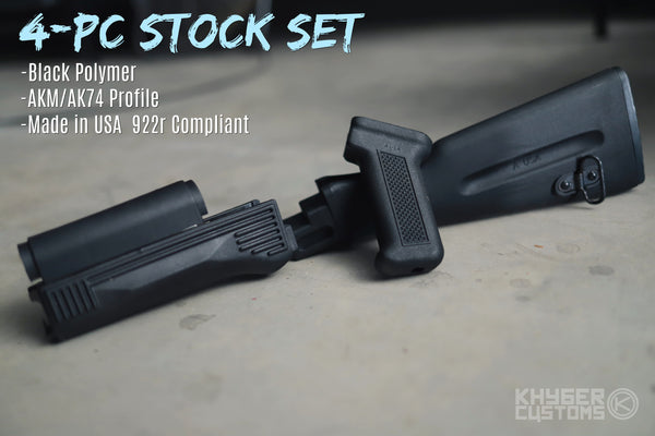 4-PC Polymer Stock Set