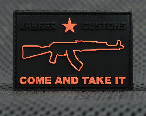 """Come and Take It"" - AKM PVC Patch"