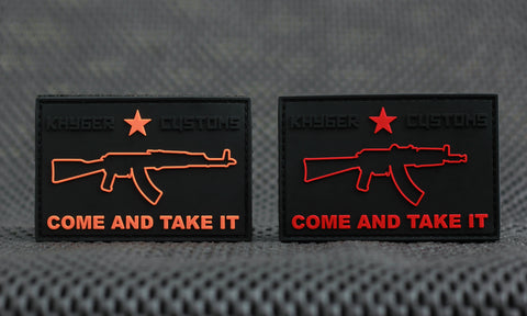"""Come and Take It"" - Krink PVC Patch"