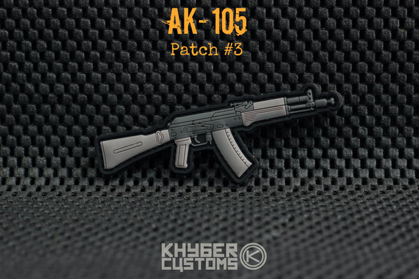 Khyber Customs AK-105 PVC Patch