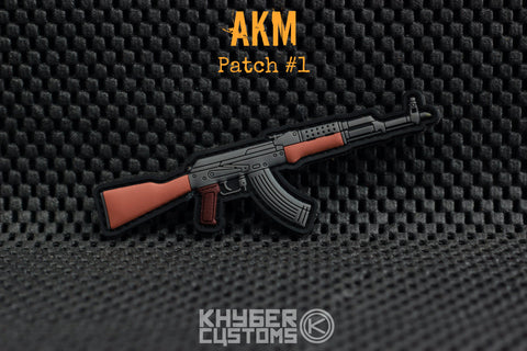 Khyber Customs AKM PVC Patch