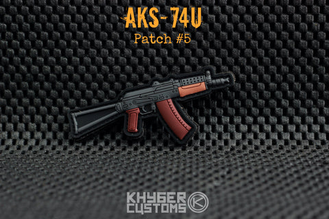 Khyber Customs AKS-74U Krink PVC Patch