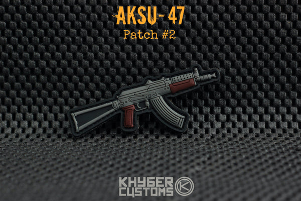 Khyber Customs AKSU-47 Krink PVC Patch