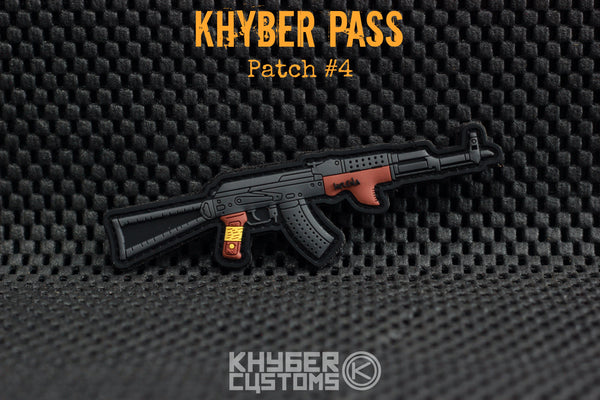 Khyber Customs Khyber Pass AK PVC Patch