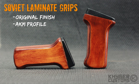 Russian Laminate Grips - Original Finish (Late Era)