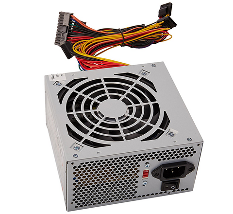 Coolmax 500W 120MM Smart Fan ATX Power Supply I-500