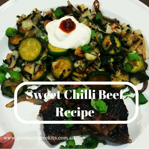 Sweet Chilli Beef Recipe