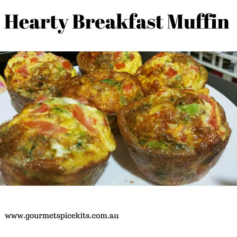 Hearty Breakfast Muffin Recipe