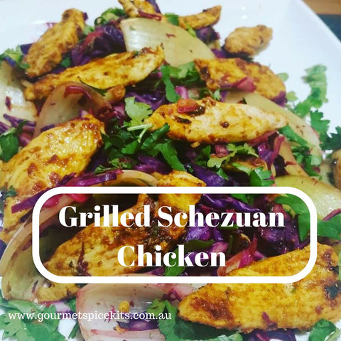 Grilled Chicken schezwan