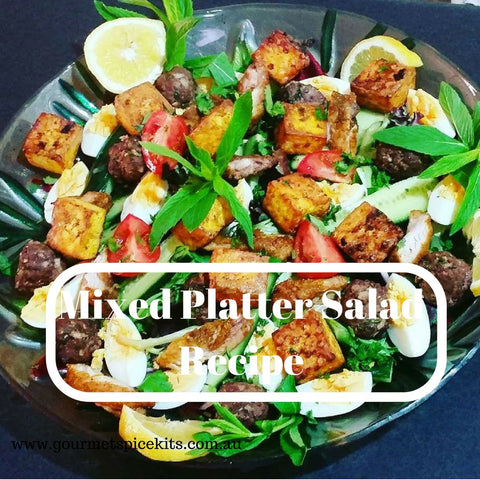 Mixed Platter Entertaining Salad