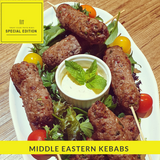 MIDDLE EASTERN KEBABS - LIMITED SUMMER EDITION