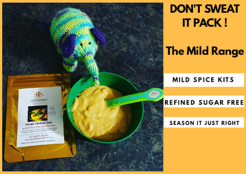 Don't Sweat It- The Mild Spice Blends Range