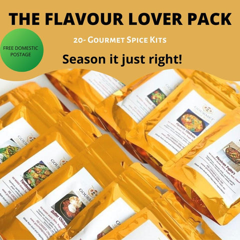THE FLAVOUR LOVER PACK- Free Domestic Postage